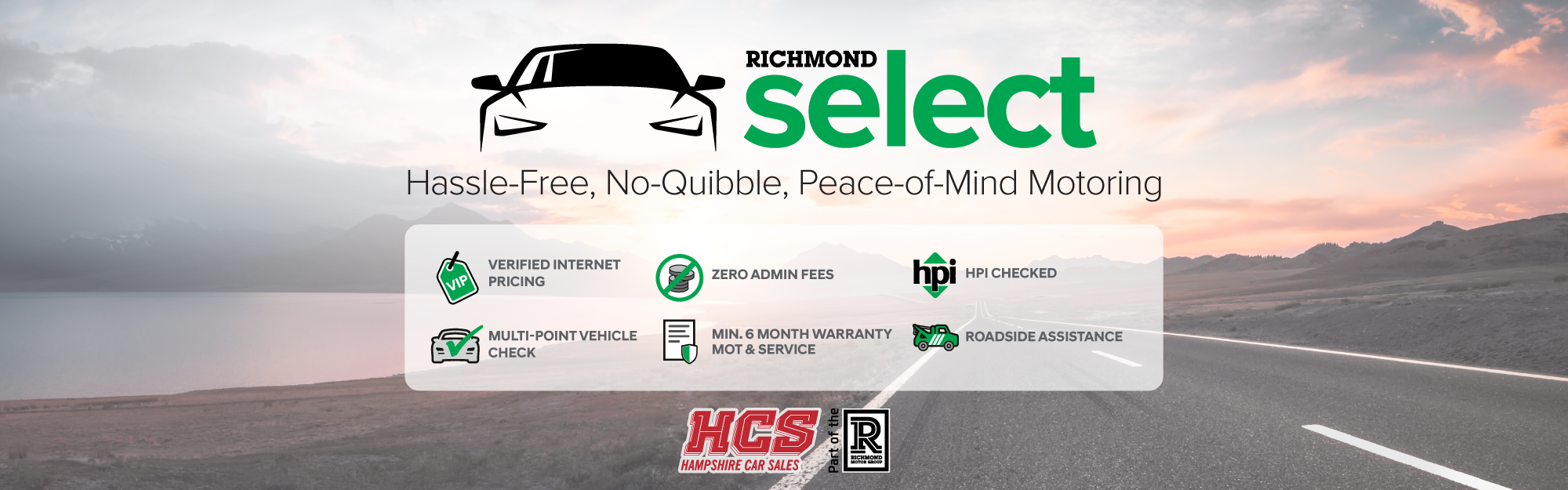 Richmond Select Headline Banner